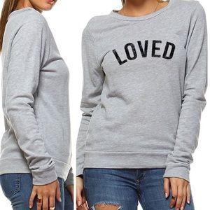 Last 1 M Adorable! Cozy Loved Graphic Sweatshirt